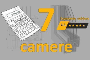 Calculator termopane 7 camere