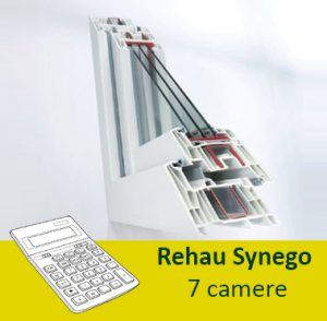 termopane rehau synego 7 camere